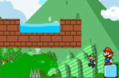 Приключение Марио с партнёром