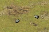 Битва танков в поле