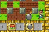 Супер Марио в роли бомбера
